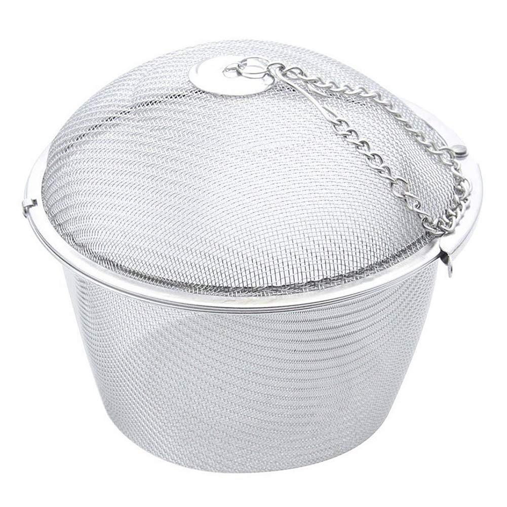 NiceButy Extra Grande Giro de Malla de Acero Bloqueo Bola de té té de la máquina de Acero Productos para el Hogar