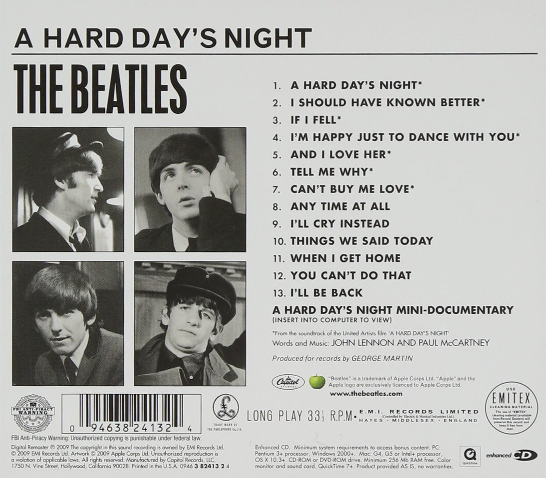 A Hard Day's Night by EMI Music
