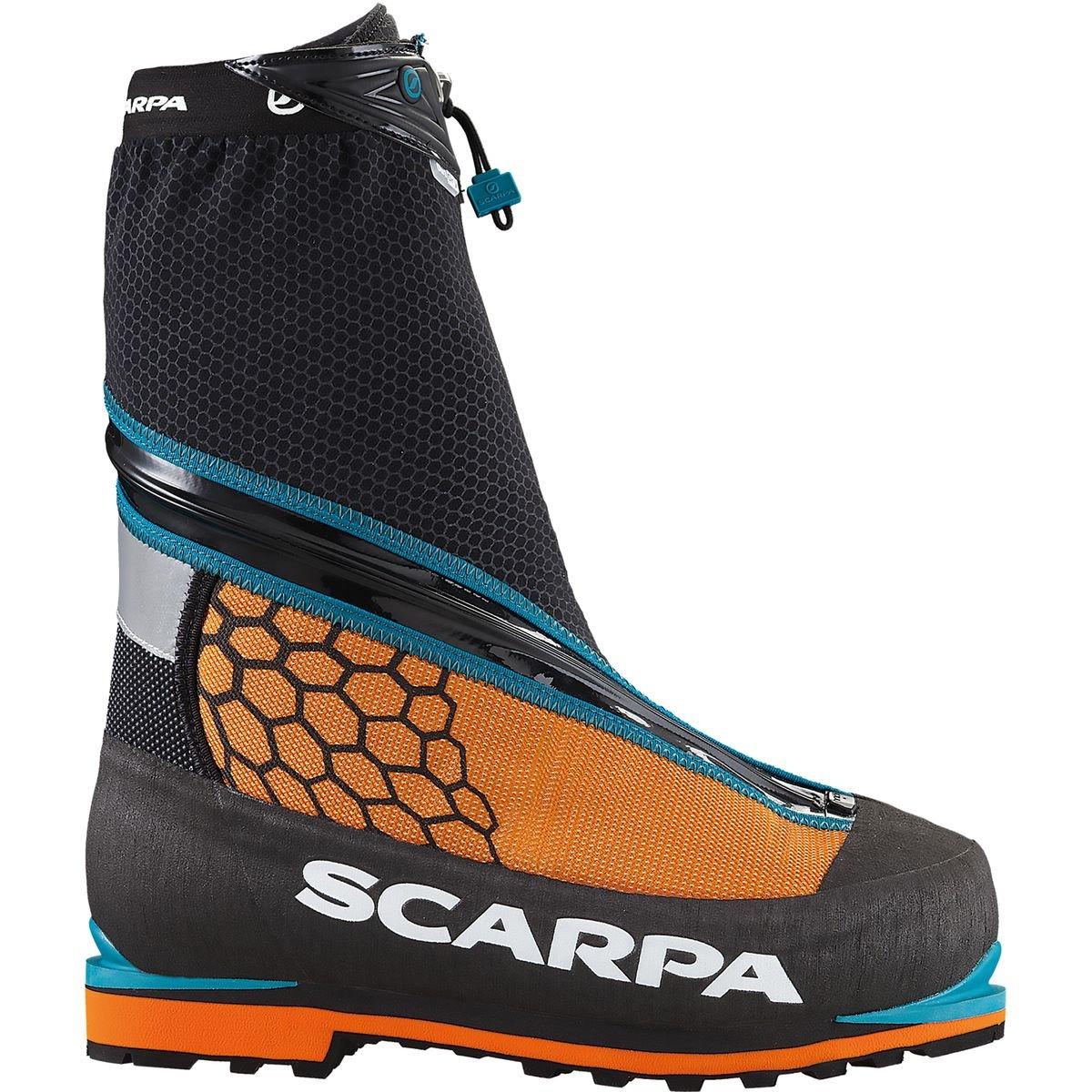 Scarpa Phantom 6000 Mountaineering Boot, Black/Orange, 41 EU/8 M US
