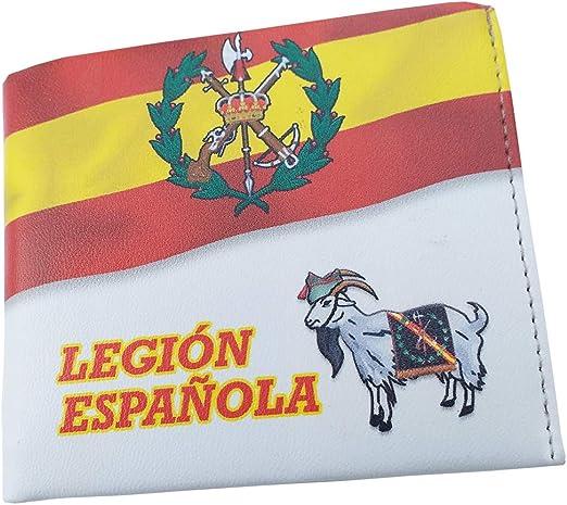 Cartera Impresa con Billetera Legión Española Fotografias 3D: Amazon.es: Equipaje