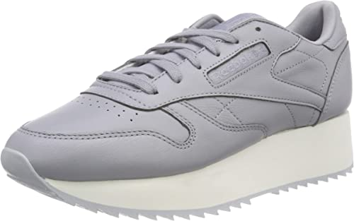 | Reebok Women''s Classic Leather Double Low Top