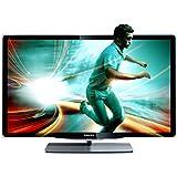 Philips 46PFL8606K/02 117 cm (46 Zoll) LED-Backlight-Fernseher (Full-HD, 3D, DVB-T/C/S2, CI+, Smart TV, USB 2.0) schwarz