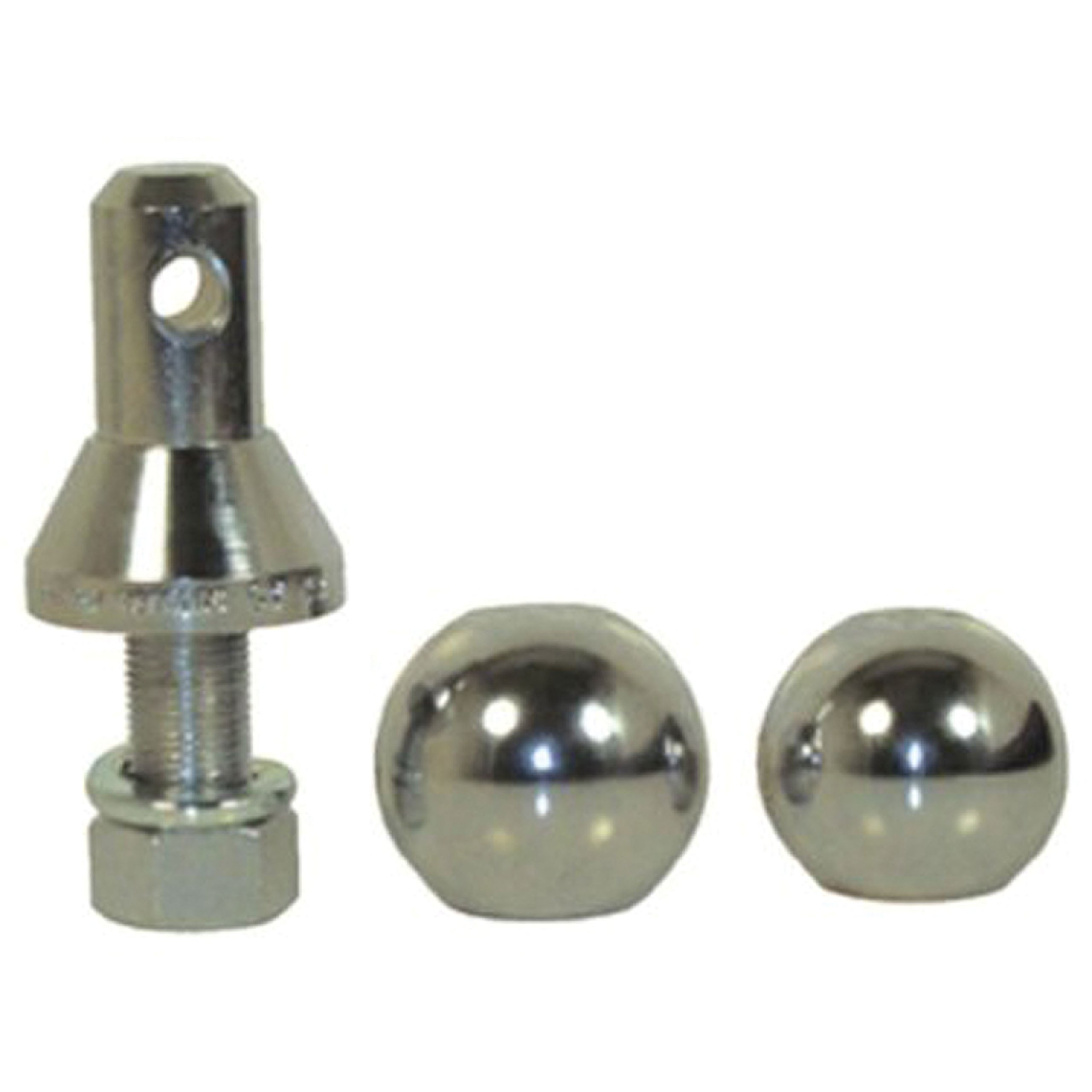 Convert-A-Ball 900B Nickel-Plated Shank with 3 Balls - 1''