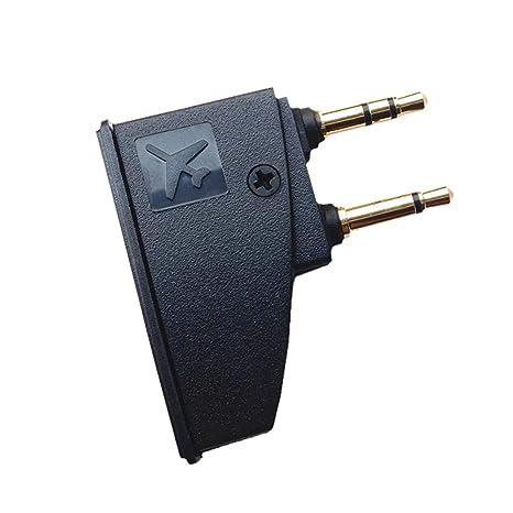 Adaptador de Auriculares Airplane para Bose QuietComfort 2 QC3 QC15 QC25 QC35 SoundLink AE2 AE2W y