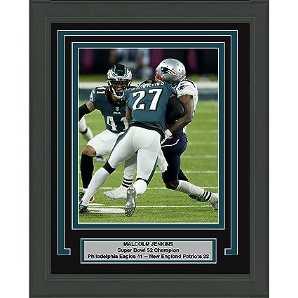 Framed Malcolm Jenkins Philadelphia Eagles Super Bowl 52 Champions 8x10  Football Photo Professionally Matted  1 ad86fd28b