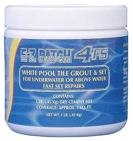 E-z patch® 4 (white) pool tile grout repair e-z patch.
