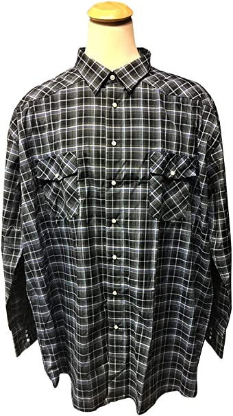 and Tall Western Plaid Shirts