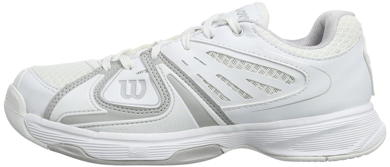 Wilson Weiß RUSH 2 W Weiß STEEL grau Weiß Wilson 9 WRS317750E090 Damen Tennisschuhe 3ef988