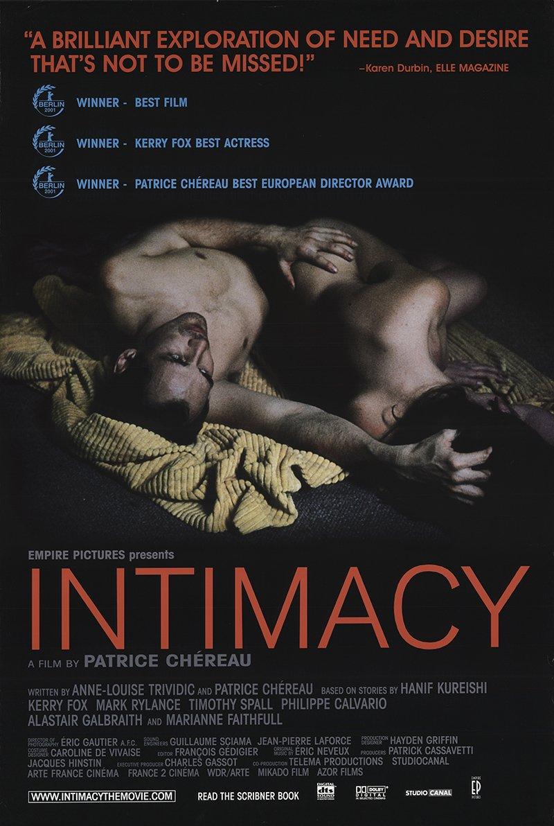 Intimacy 2001 trailer youtube.
