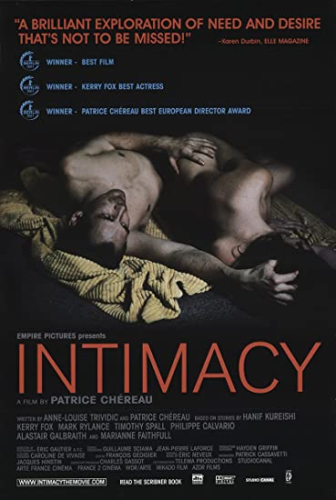 """Intimacy 2001 authentic 27""""x 41"""" original movie poster rolled."""