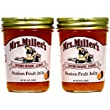 Passion Fruit Jelly (Amish Made) ~ 2 / 8 Oz. Jars
