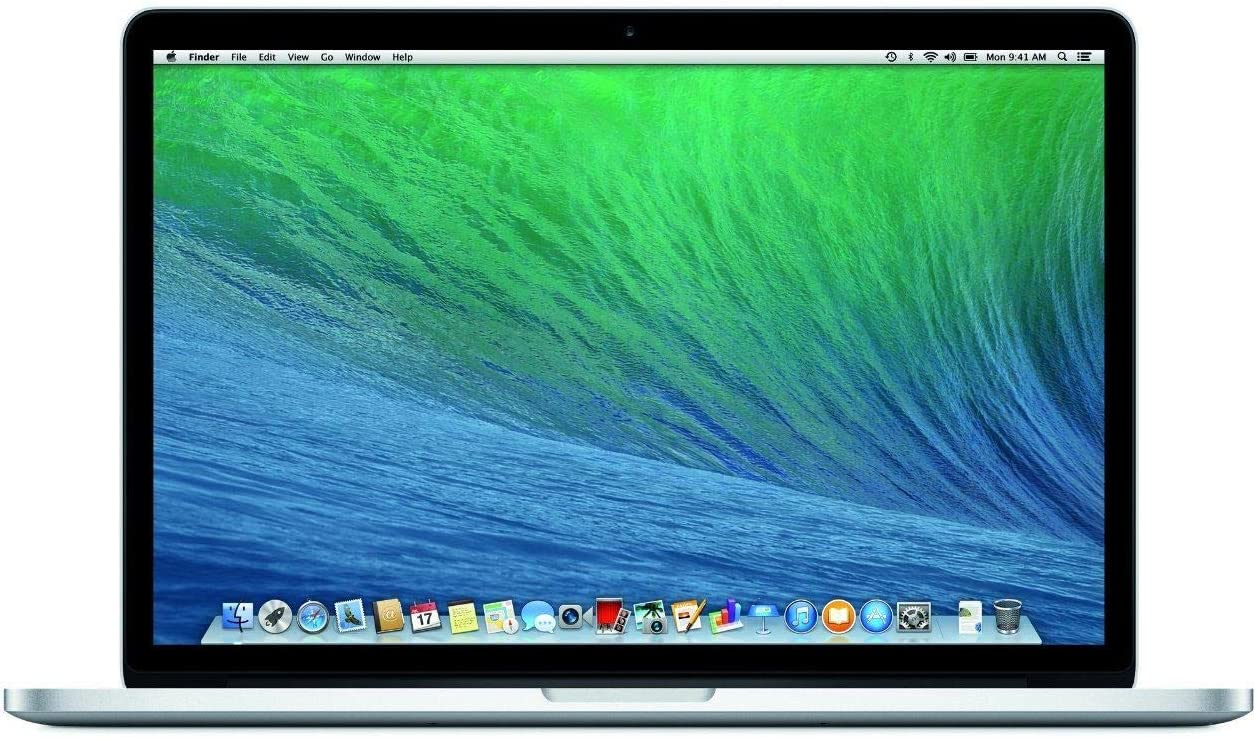 Apple MacBook Pro MGXA2LL/A 15-Inch Laptop with Retina Display (2.2 GHz Intel Core i7 Processor, 16GB RAM, 256GB SSD) (Renewed)