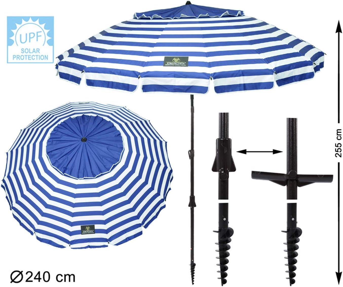 CreviCosta Sombrilla 240, Azul Marinero