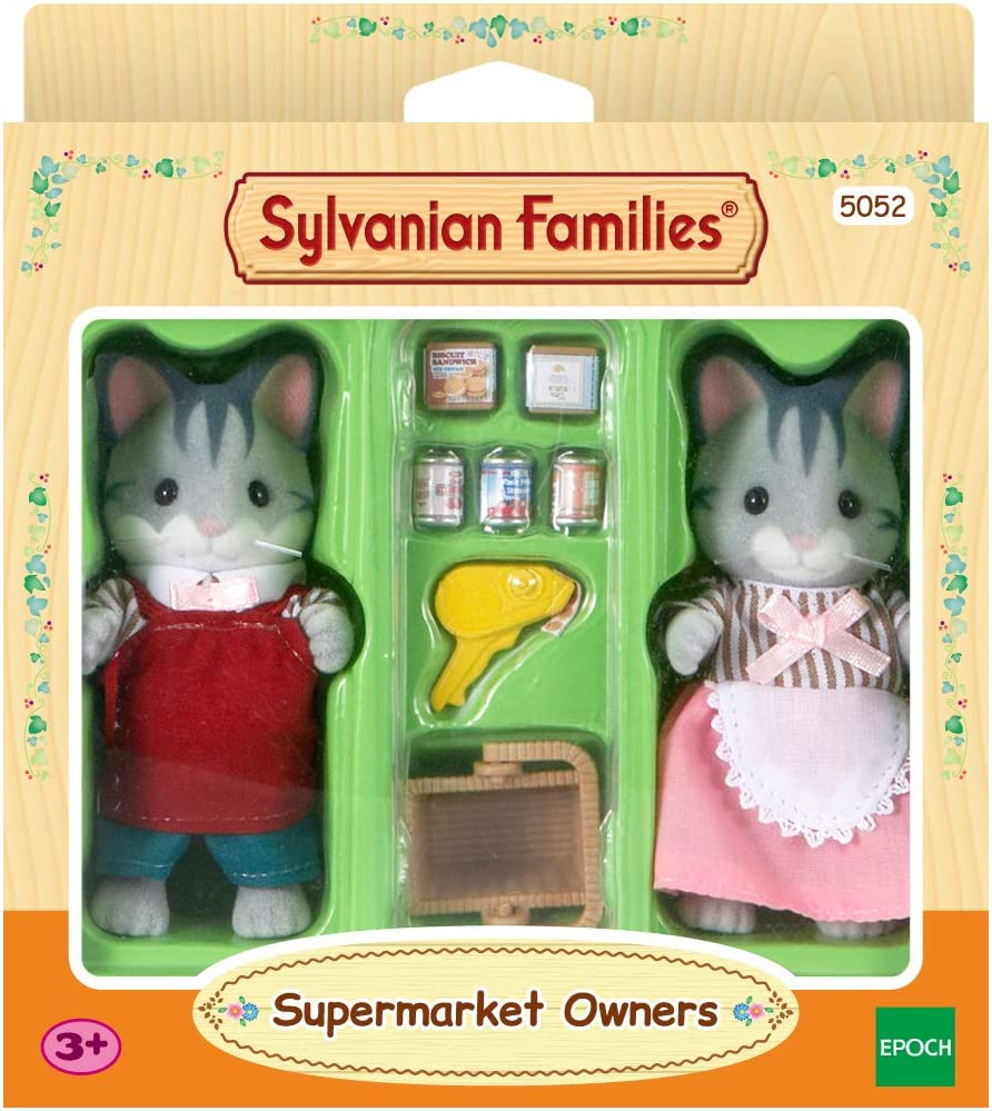 Color Assorted Colours SYLVANIAN FAMILIES Sylvanian Families-5052 Mu/ñecos beb/é y Accesorios Epoch para Imaginar 5052