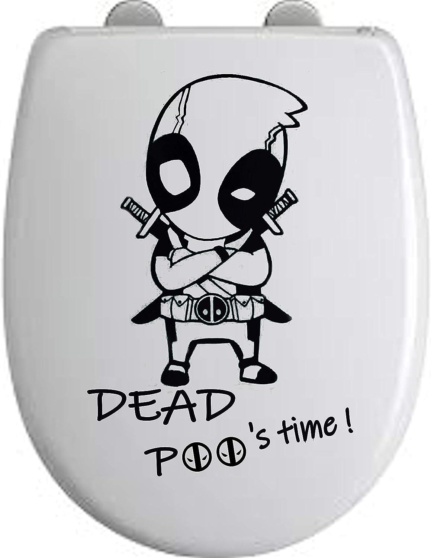 iPoop Toilet Seat Bathroom Decals Stickers PC Car Moto Decals Apple Funny Joke by wall sticker studio