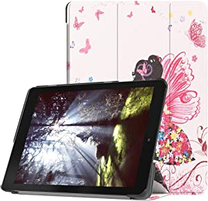 "for Acer Chromebook Tab 10 9.7 inch Tablet Cover, Ultra Slim Folio Stand Lightweight Leather Case for Acer Chromebook Tab 10 D651N 9.7"" (Elf Girl)"