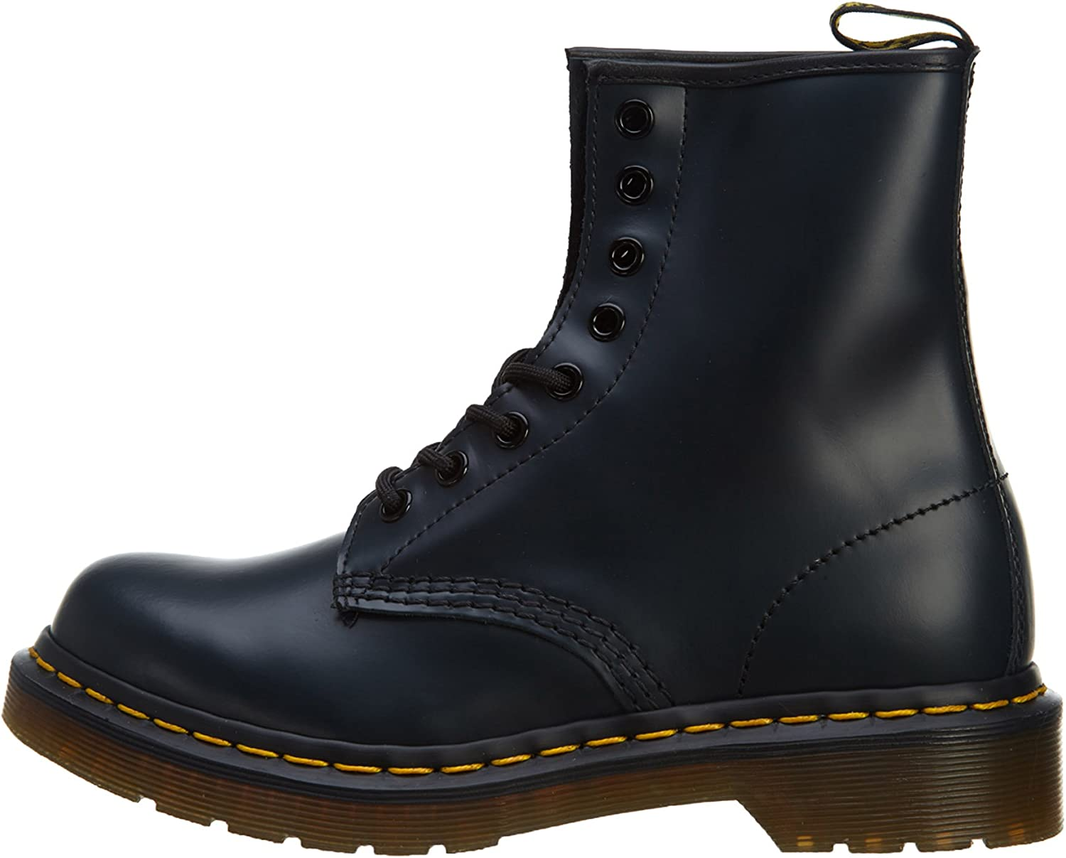 Dr. Martens 1460, Bottines Mixte Navy Smooth Leather