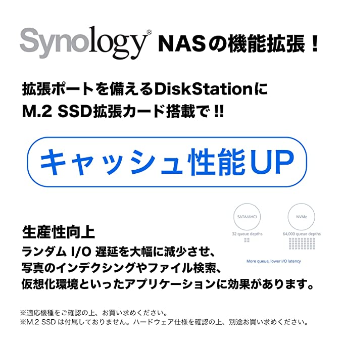 Synology M 2 Adapter Card (M2D18)