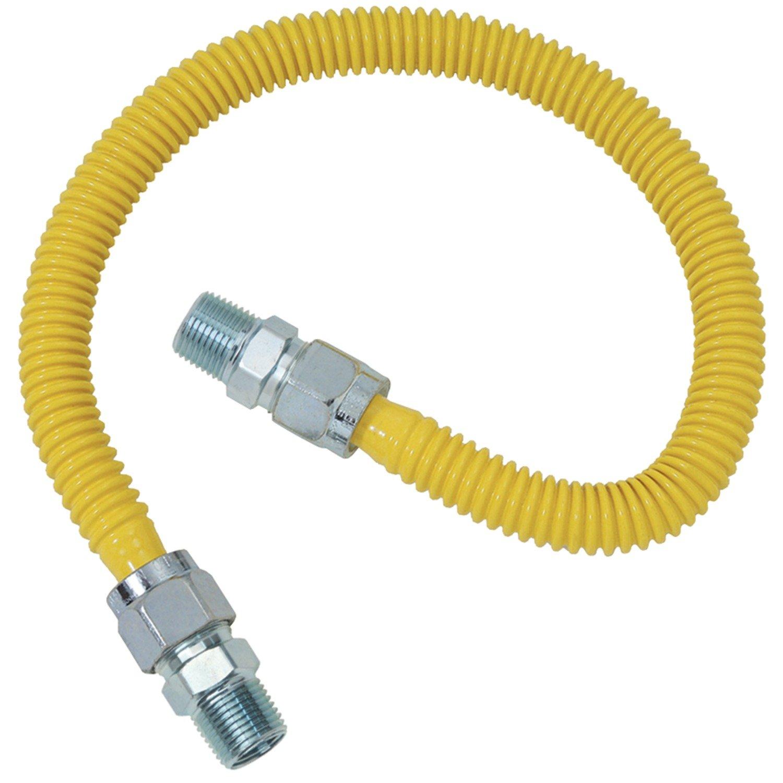 Brasscraft CSSC44-72 Gas Range and Gas Furnace Flex-Lines