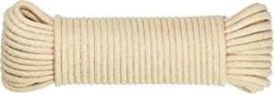 """SteadMax Natural Cotton 3/16"""" Rope for Sports & Outdoors"""