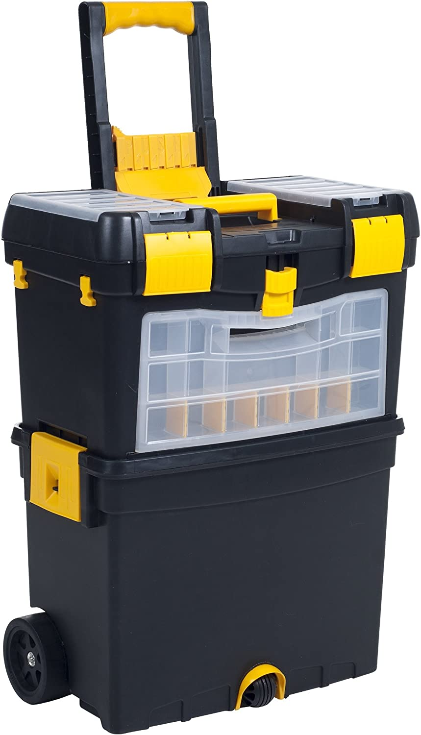 Stalwart Rolling Tool Box with Wheels