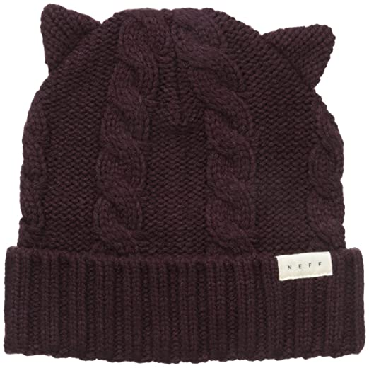 721159e8f4a72 Amazon.com  NEFF Women s Kat Ears Beanie