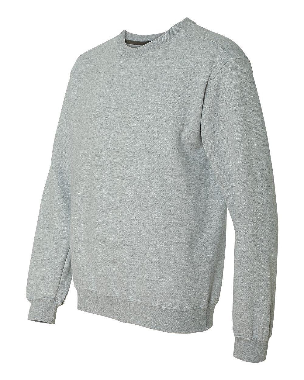 G920 Gildan Mens Premium Cotton 9 Oz ,Sport Grey-Small Ringspun Crew