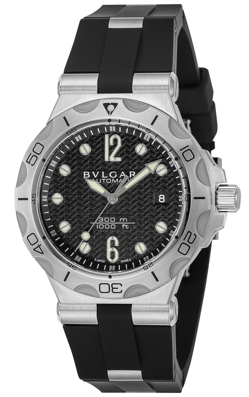 [ブルガリ]BVLGARI 腕時計 ディアゴノプロフェッショナル ブラック文字盤 自動巻き DP42BSVDSDVTG メンズ 【並行輸入品】 B075D48HXN