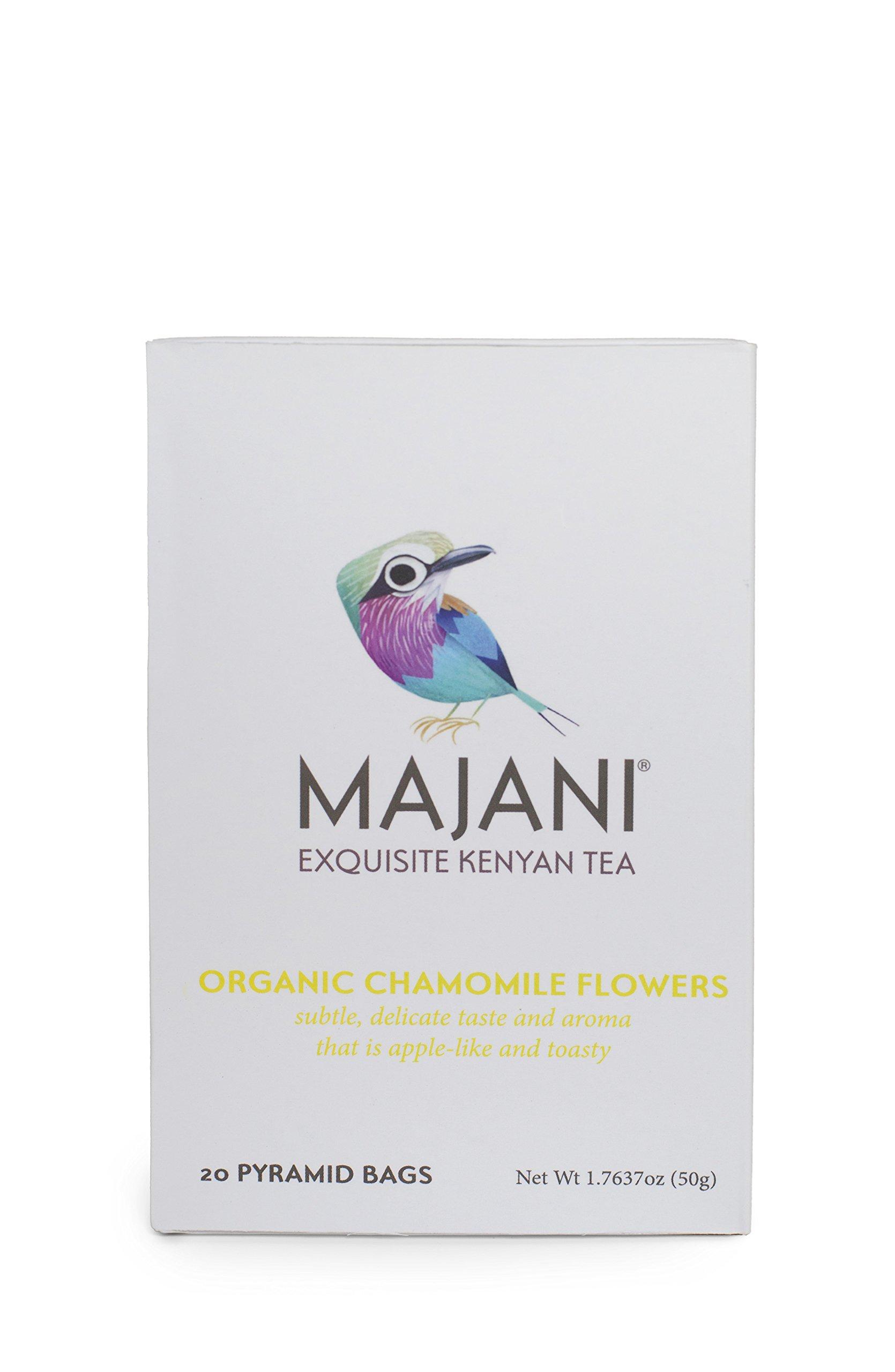 Majani Teas Organic Chamomile Flowers, 1.7 Ounce