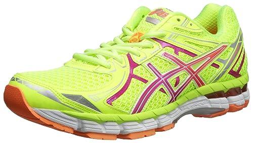 ASICS Calzado de running GT-2000 2 para mujer, pez payaso amarillo / rosa / naranja flash, 5 M US: Amazon.es: Zapatos y complementos