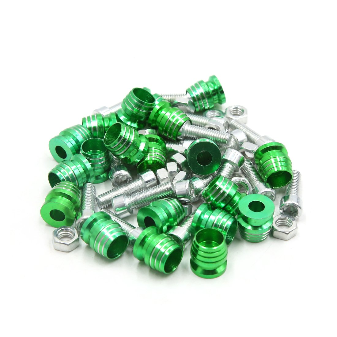 Uxcell a17101200ux0552 Motorcycle License Plate Bolt Screw 20 Pack