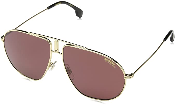 0c347242c96 Amazon.com  Carrera Bound Polarized Aviator Sunglasses GOLD 60 mm ...