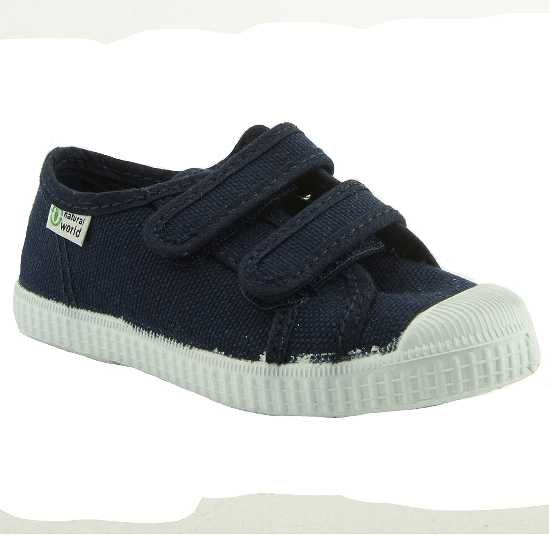 Sneaker Bambina Natural World Basquet Doble Velcro Paris
