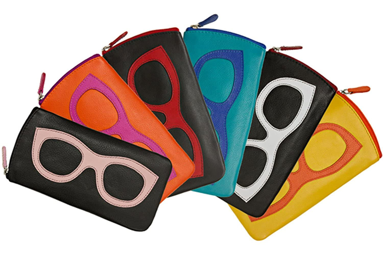 ili New York 6462 Leather Eyeglass Case