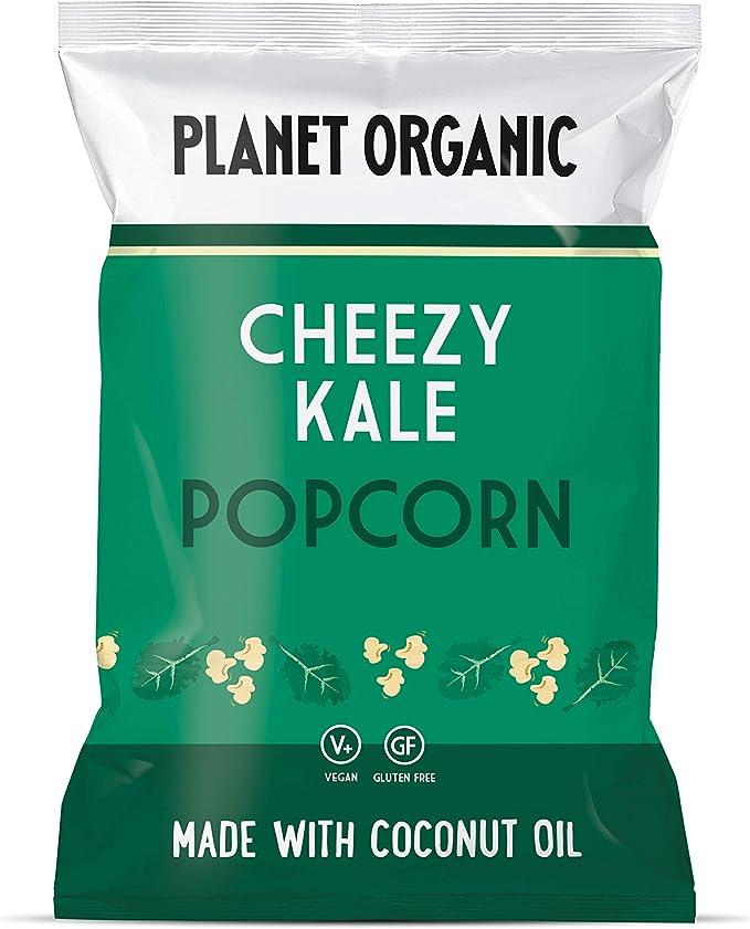 Planet Organic Cheesy Kale Popcorn, 20 g, Lot of 10: Amazon.co.uk: Grocery