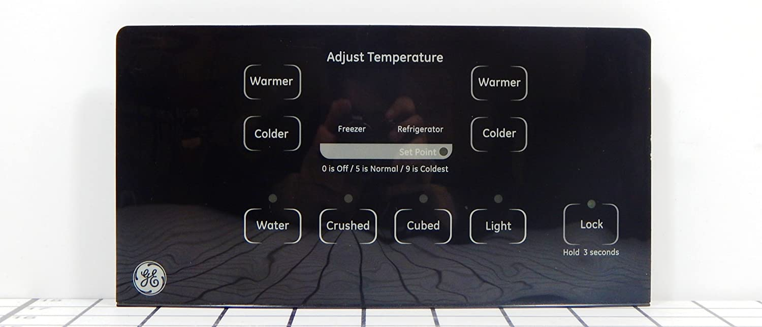 GE Refrigerator WR55X23210 Ice and Water Dispenser Black Control Board