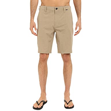 """Khaki Hurley Phantom Flex 20/"""" Hybrid Shorts New"""