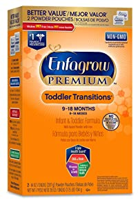 Enfagrow Toddler Transitions Infant and Toddler Formula Review