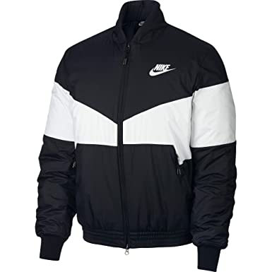info pour 012cb 4f039 Nike M NSW Syn Fill bombr GX - Veste, Homme, Noir (Black ...