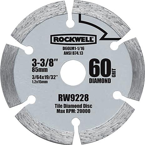 Rockwell rw9228 versacut 3 38 inch diamond grit circular saw rockwell rw9228 versacut 3 38 inch diamond grit circular saw blade greentooth Images