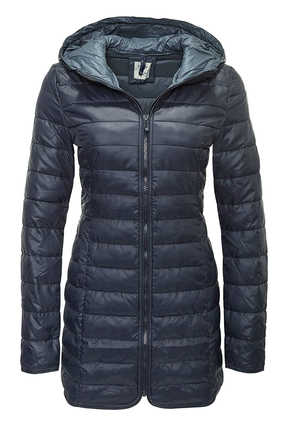 ONLY Damen Mantel Onltahoe Quilted Contrast Coat Cc Otw