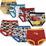 Disney Boys TBUP6533 Cars 3pk Training Pants & 4pk Briefs Underwear - Multi