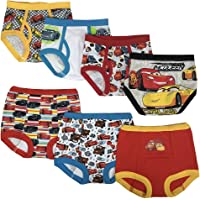Disney Boys Cars 3pk Training Pants & 4pk Briefs Underwear