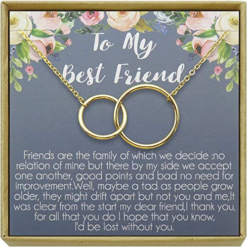 com idlan best friend necklace bff gift long distance