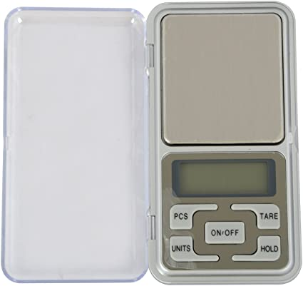 Right Choice Digital Pocket Scale 0.01G To 200G For Kitchen Jewellery Weighing - Black