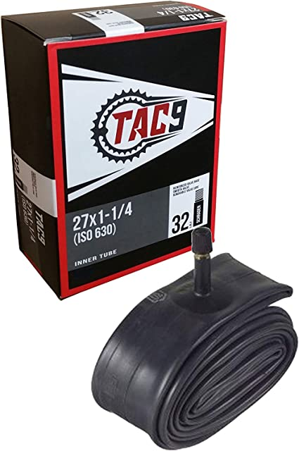27*1 1//4 Inner Tire Tube Schrader Valve Bike Bicycle Butyl Rubber Tyre