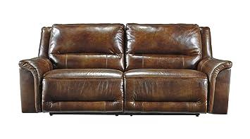Ashley Furniture Signature Design - Jayron 2 Seat Recliner Sofa - 1 Touch Powered Reclining -  sc 1 st  Amazon.com & Amazon.com: Ashley Furniture Signature Design - Jayron 2 Seat ... islam-shia.org