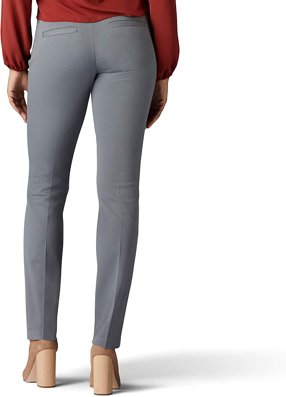 LEE Womens Sculpting Slim Fit Slim Leg Pull-On Pant