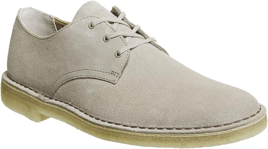 obtener cuello Deformar  Clarks Originals Mens Desert Crosby Shoes in Sand- Lace Fastening- Tonal  Upper-: Amazon.co.uk: Shoes & Bags