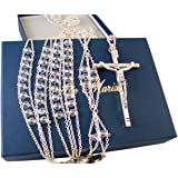 Amazon.com : Crystal Wedding Lasso Gold Plated Accents made ...
